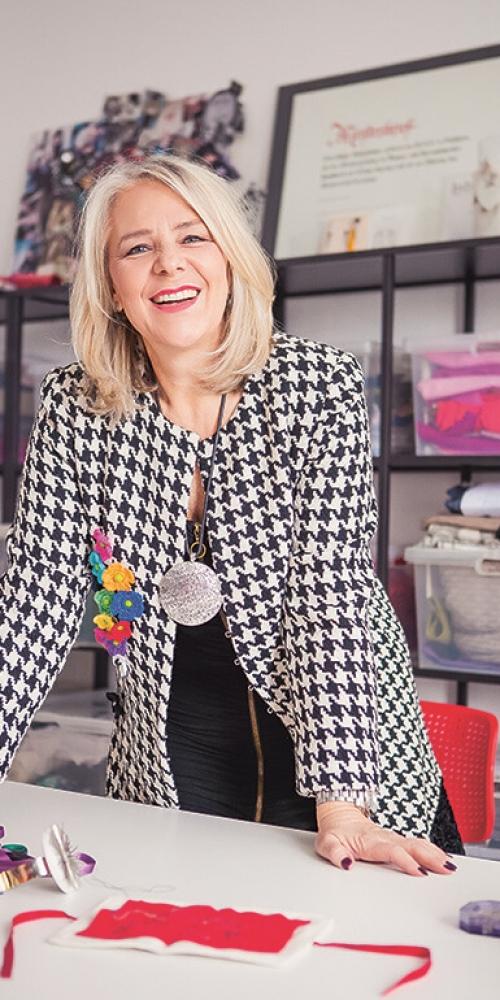 Atelier Helga Maria Schatzlmayr - Portrait der Modedesignerin