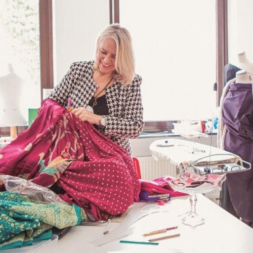 Atelier Helga Maria Schatzlmayr - in Aktion